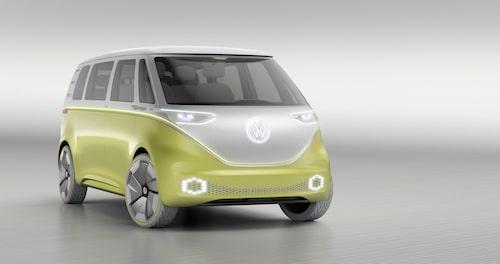 Volkswagen I.D. Buzz Concept visades i Detroit tidigare i år.
