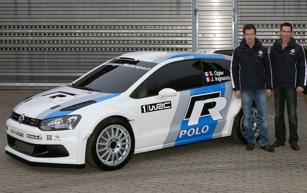 Sébastien Ogier kör WRC för Volkswagen