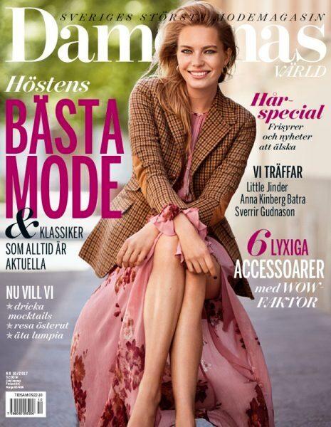 Intervjun med Anna Kinberg Batra är med i det nya fullmatade numret av Damernas Värld.