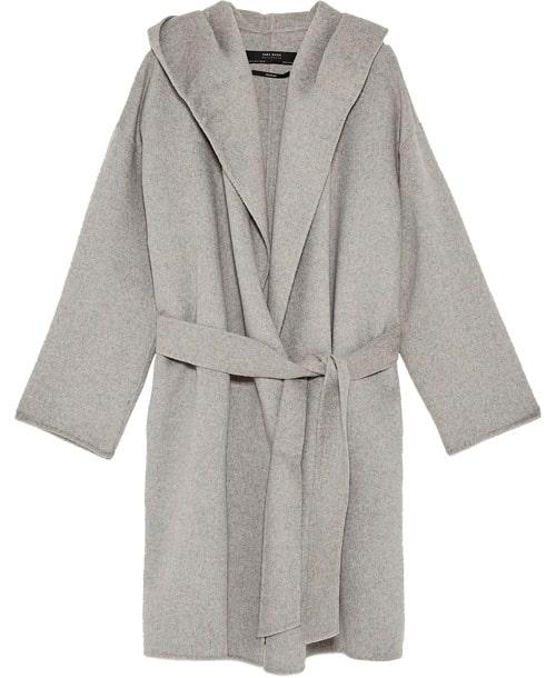 Höstkappa med luva, 999 kr, Zara