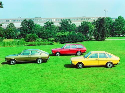 Volkswagen Passat generation 1.
