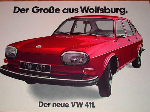 Volkswagen 411 1968.