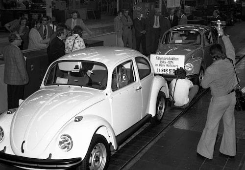 Volkswagen Beetle 1974.