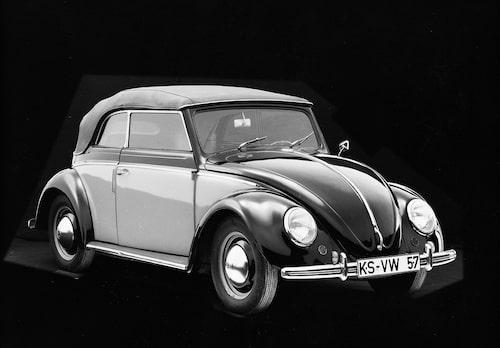 Volkswagen Beetle Cabrio 1957.