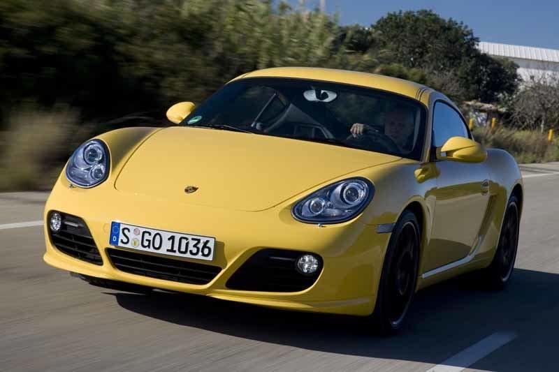 Provkörning av Porsche Cayman S