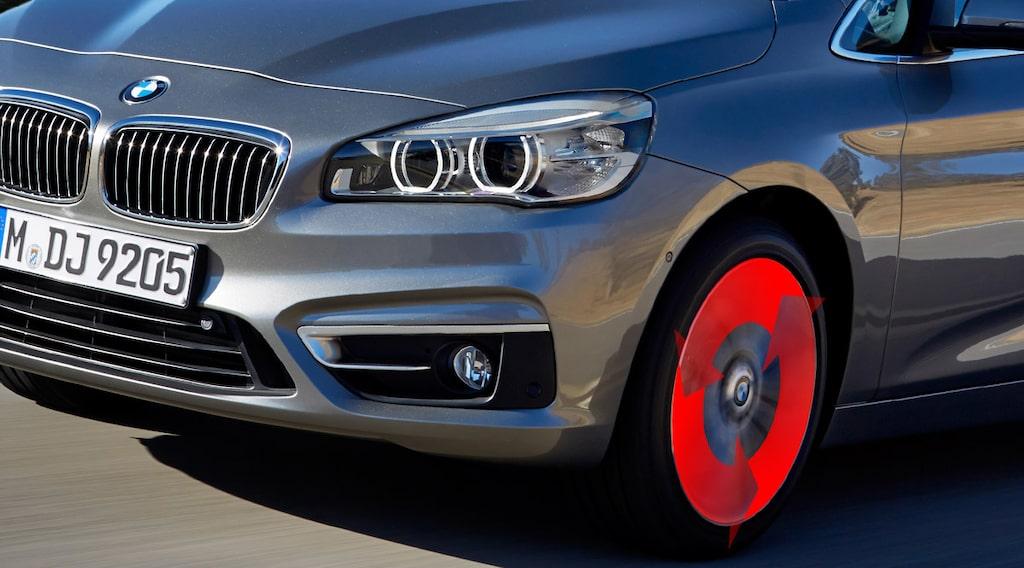 Framhjulsdrift: BMW 2-serie Active Tourer