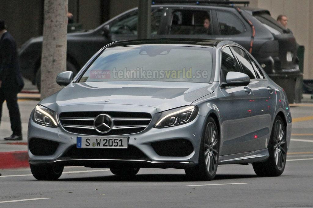 Nya Mercedes C-klass W205 (ny bild)
