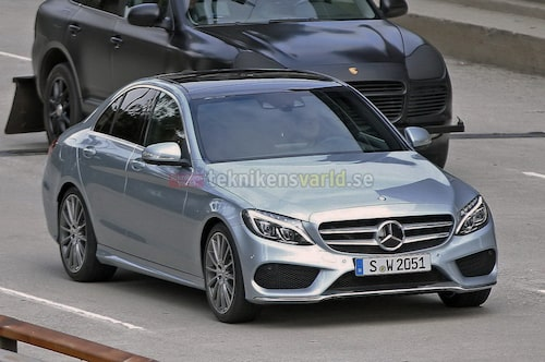 Nya Mercedes C-klass W205