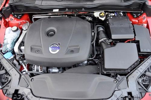 VEA-motorn ger all  den kraft som behövs.