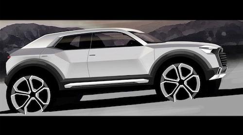 Äldre illustration från Audi.
