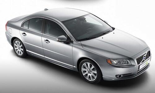Volvo S80 1,6D DRIVe, 109 hk, 240 Nm, 129 gram CO2 per kilometer, 0,49 liter per mil.