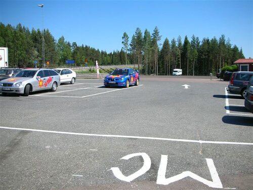 Bra parkeringsmöjligheter är A och O.