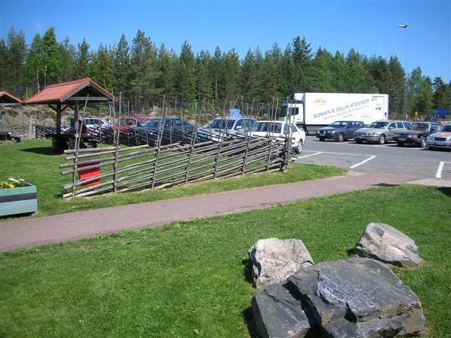 Långsjön är bästa rastplatsen i Dalarna.