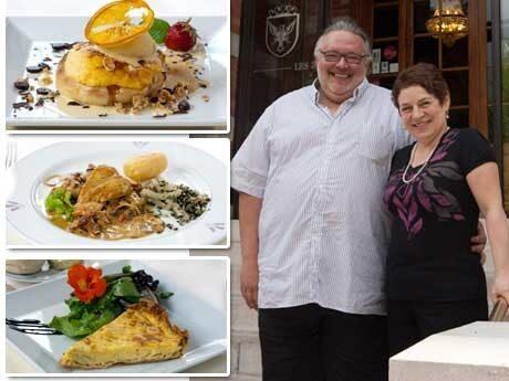<p>Paret Philippe och Caroline Venet driver hotellrestaurangen &quot;Hostellerie des 3 Mousquetaires&quot; i franska Flandern.</p>