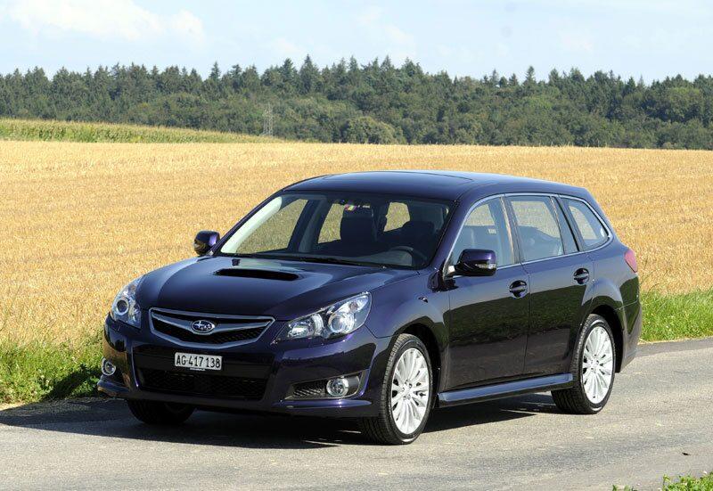 Provkörning av Subaru Legacy 2,5 GT