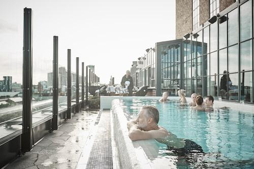 Steam hotel I Västerås.