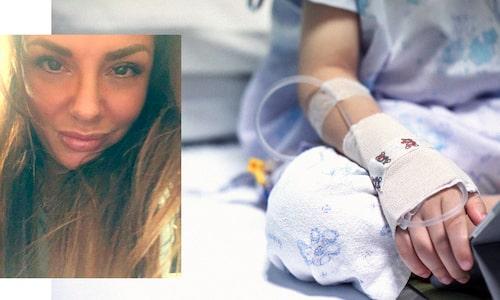Emilias dotter Molly behandlas för leukemi.