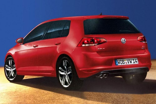 Nya Volkswagen Golf generation sju?