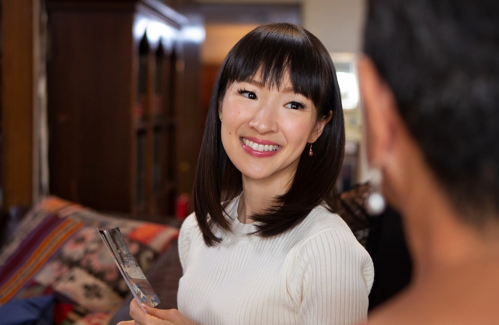 Marie Kondo är en japansk organisationskonsult och författare som skrivit flera böcker om organisering och städning som sålt i miljontals exemplar världen över. 2015 listades hon som en av världens mest inflytelserika personer enligt TIME Magazine.