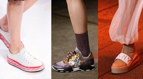 Sneakers direkt från catwalken. Marco De Vincenzo, Missoni, DKNY.
