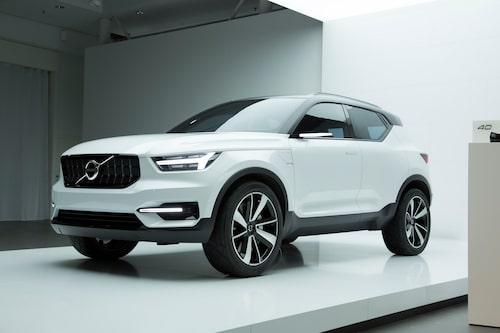 Volvo Concept 40.1, som visades i maj, var en förhandsstudie i vad som komma skall i form av XC40.