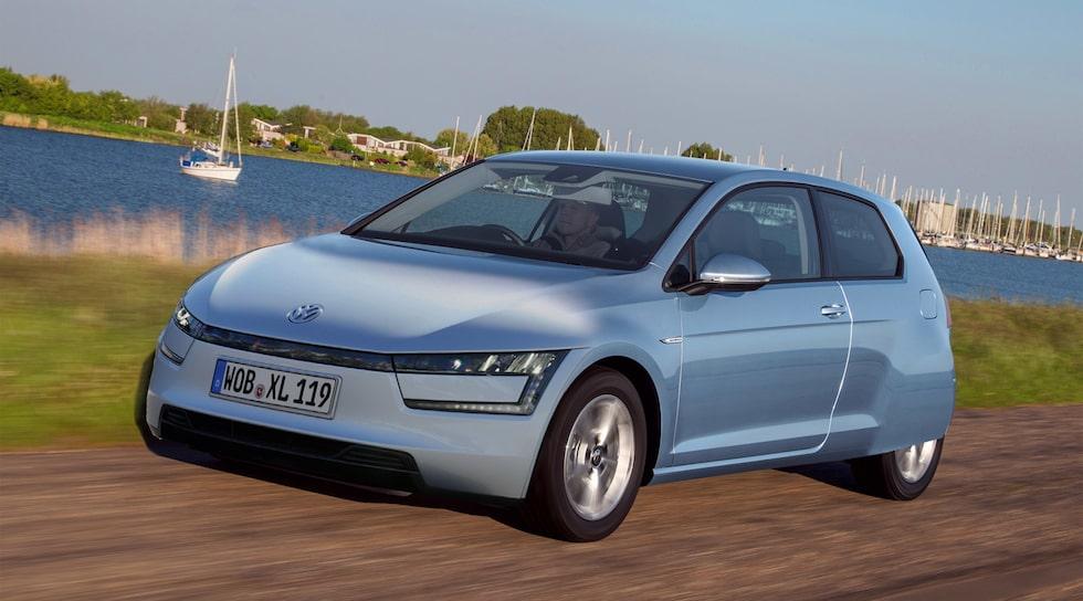 Volkswagen Golf Mk8 inspireras av XL1