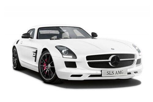 Mercedes SLS AMG Coupé Matt Edition White