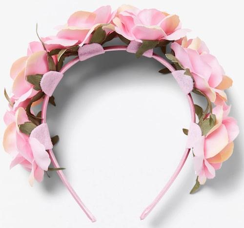 Diadem från Lindex med blommor. Klicka på bilden och kom direkt till produkten.