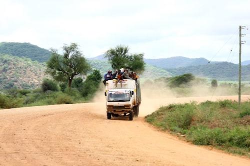 Afrikansk lokaltrafik.