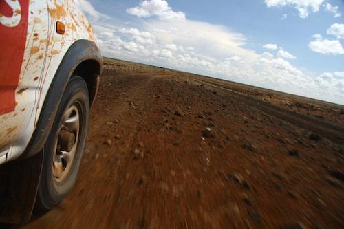 Kenyansk motorväg.