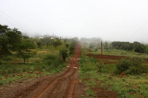 Annan del av den kenyanska motorvägen.