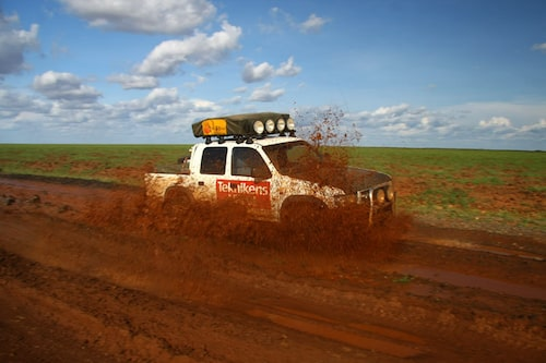 Kenyansk lerhög.