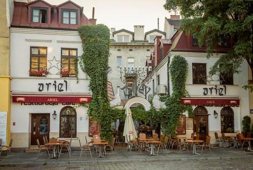 Kazimierz , judiska kvarteren.