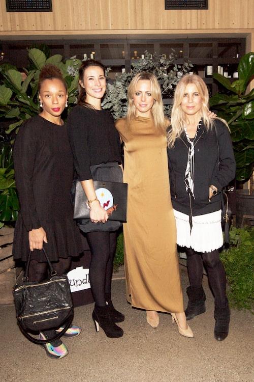 Louise Sondlo, Elin Ryer, Carolina Neurath och Nina Philipsson.