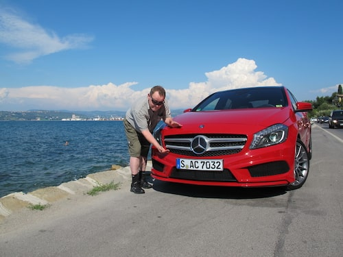 PeO Kjellström har fått känna på nya Mercedes A-klass... och han imponeras.