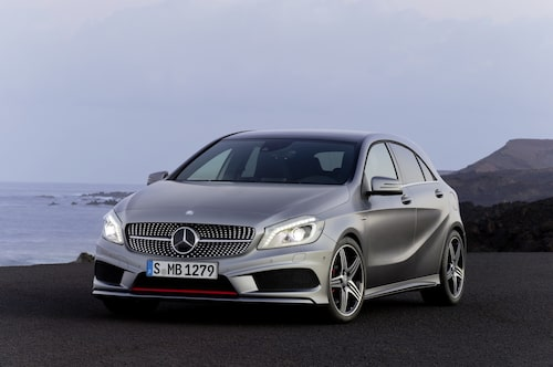 Nya Mercedes A-klass med AMG-paket.