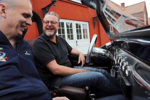 Watercar-experten Rasmus vet inte vad han gett sig in på, att gå till sjöss med Hedberg i Panther...