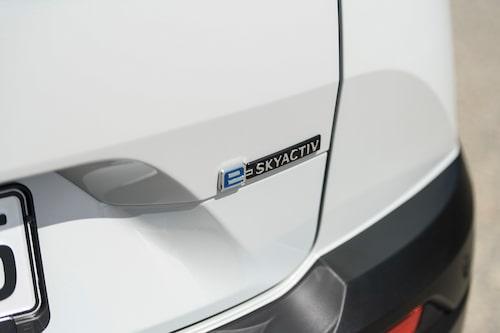 e-Skyactiv är namnet på Mazdas elbilsteknik, den här och kommande.