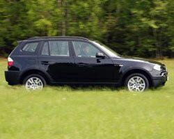 Provkörning av BMW X3 2,0d