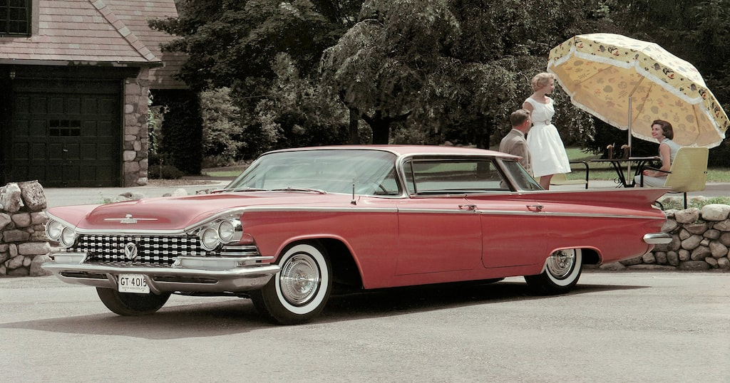 1959 Buick LeSabre Four-Door Sedan.