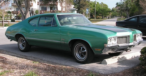 Oldsmobile Cutlass 1970.
