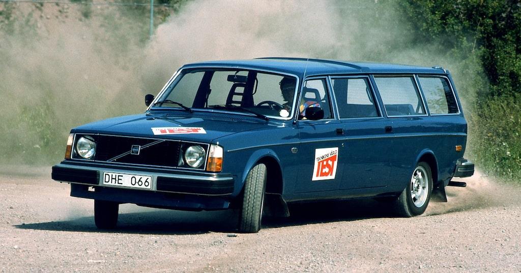 Volvo 245 Transfer.