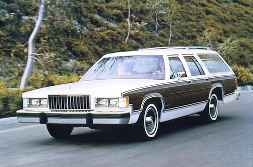 1985 Mercury Grand Marquis Colony Park.