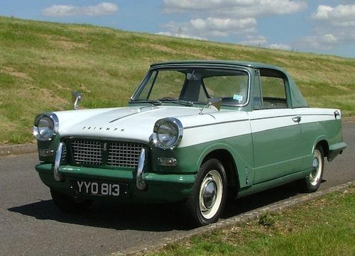 Triumph Herald 948 Coupe.