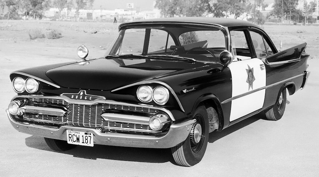 Dodge Coronet polisbil, 1959.
