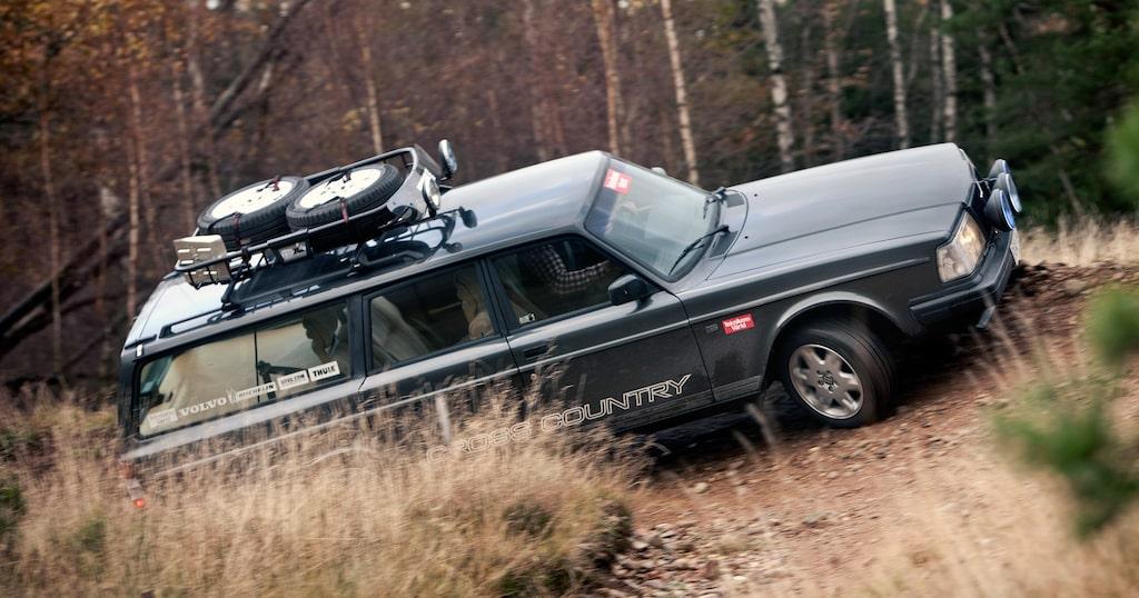 Volvo 245 XC, vår egen Hans Hedbergs specialare.