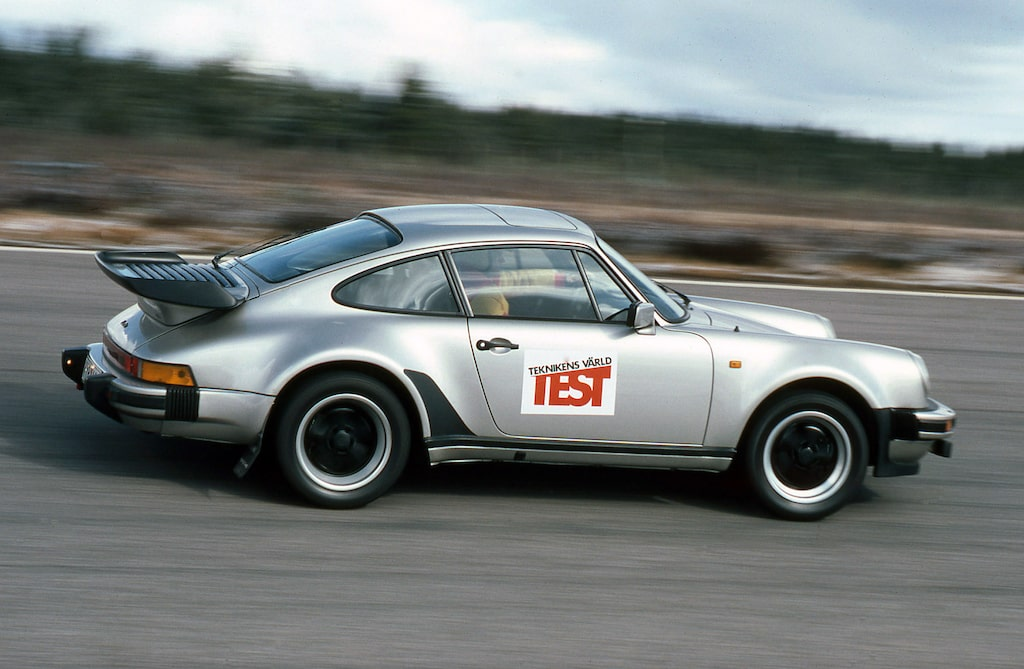 Porsche 911 Turbo: 1981