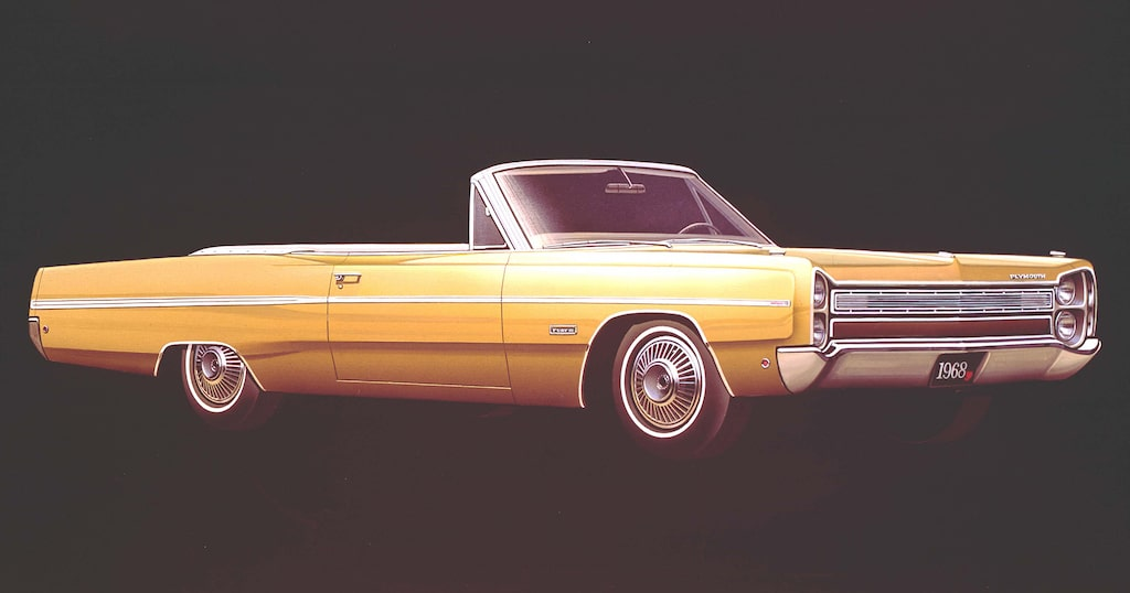 Plymouth Fury 1968.
