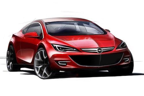 Opel Astra Coupé, GTC