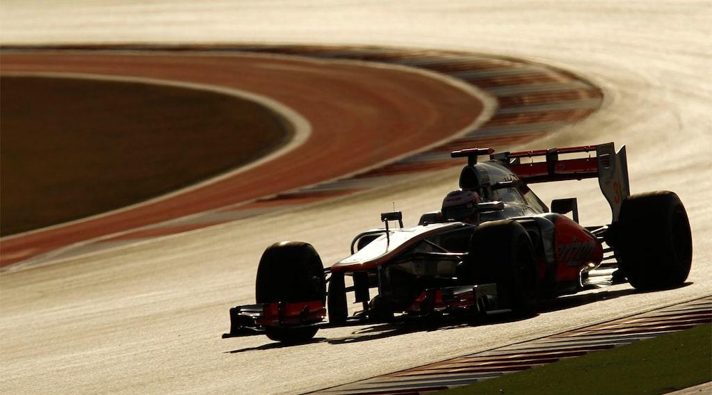 Lewis Hamilton, McLaren, vann i Austin i Texas, USA